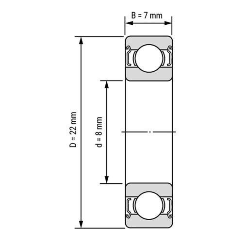 Bearing 8x22x7 miniatur rillenkugellager kugellager 608 zz 8x22x7