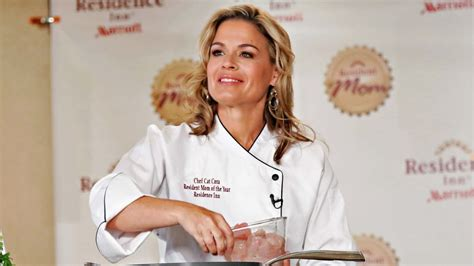 celebrity chef cat cora hopes to cook up a sale in santa