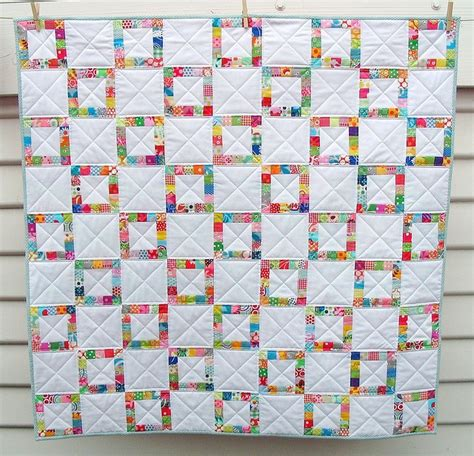 Pieced Quilt Borders by Pieced Border Scrap Quilt I Quilts