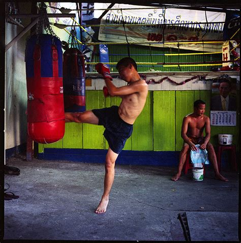 a muay thai fighter works out featured photo tasty