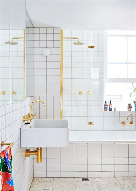 bathroom white tile black grout design trends white tile with dark grout heather zerah