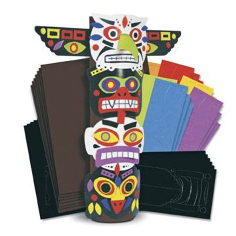 totem pole craft project best 25 totem pole craft ideas on