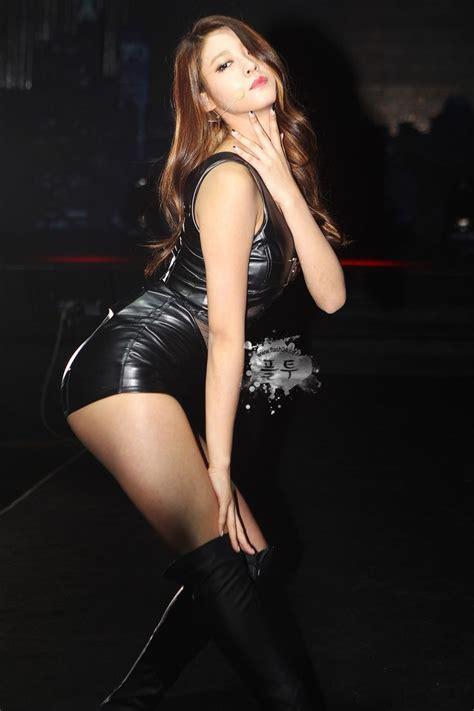 Jacket Korean Style Comby Sk 58 플래시24 gt 스타 스포츠 gt 설현 고화질 wearing leather