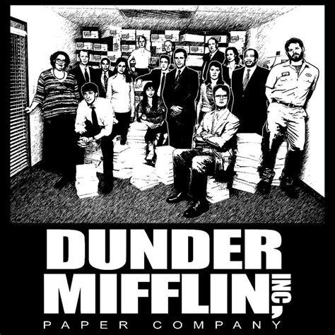 Dunder Mifflin the office t shirt dunder mifflin shirt ebay