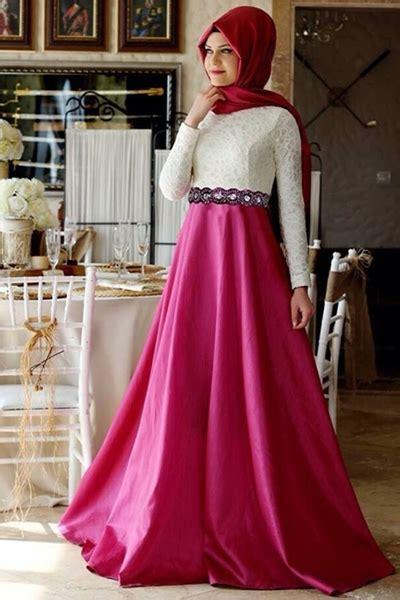 desain gaun formal contoh gaun pesta muslim referensi terbaik gaun pesta muslim