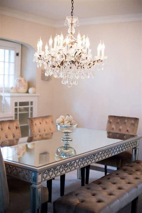 esstisch kronleuchter 50 salas de jantar espelhos lindas e inspiradoras