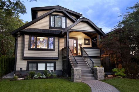 exterior house paint colors with black trim best builders ltd craftsman exterior vancouver by