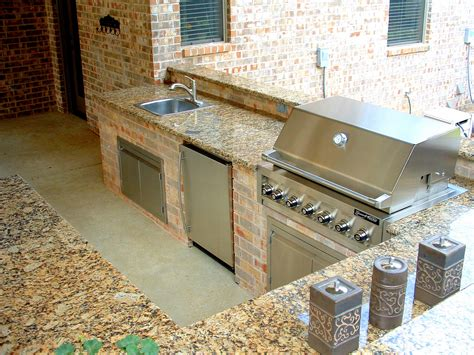 artistic project outdoor kitchens custom grill island