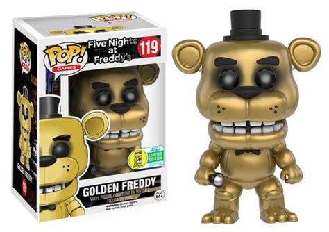 Funko Pop Fnaf Freddy Lot Of 7 Exclusives Gitd Htf Sdcc F Funko Pop Five Nights At Freddy S Checklist Exclusives