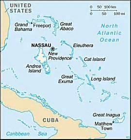 why grand bahama island was chosen as the site for ginn