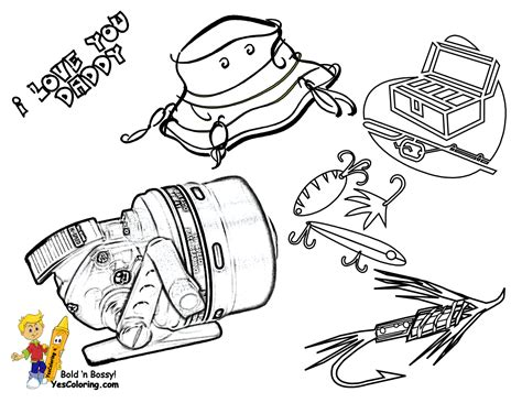 fishing hat coloring page free coloring pages of fishing hat