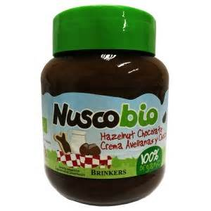 Nuscobio Hazelnut Chocolate Spread nuscobio hazelnut chocolate spread 100 organic lohas