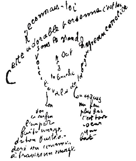 Calligrammes By Guillaume Apollinaire   calligrammes poems of peace and war by guillaume apollinaire