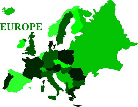 Europe Continent Outline by Europe Continent Clip Www Pixshark Images Galleries With A Bite