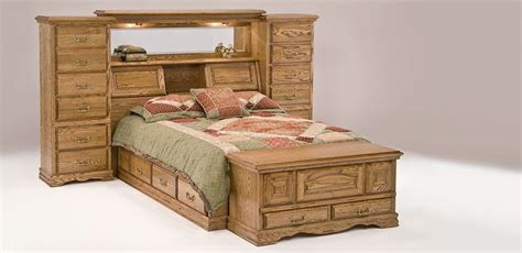 furniture traditions mid wall bed headboard storage