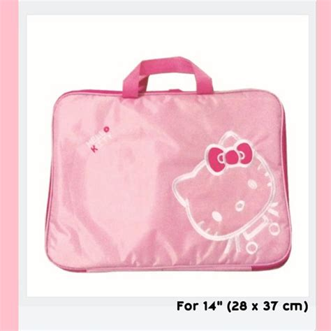 Softcase Hello jual softcase tas laptop hello 14 inch pink