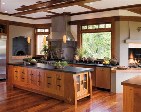 mission style kitchen island 1000 ideas about craftsman style kitchens on