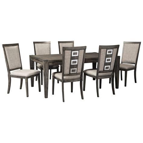 signature design by ashley demarlos formal dining room set signature design by ashley chadoni formal dining room