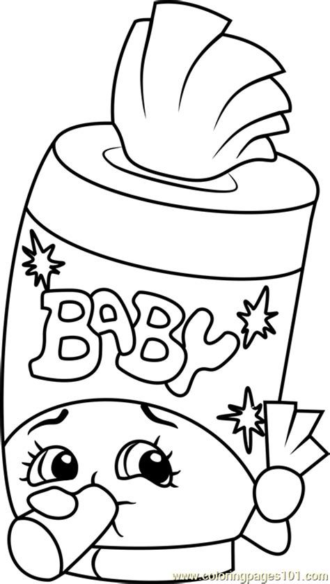 coloring pages of baby shopkins baby swipes shopkins coloring page free shopkins