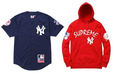 supreme new york supreme x new york yankees x 47 brand 174 wave 174