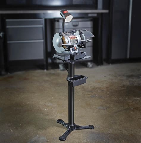 craftsman bench grinder stand description