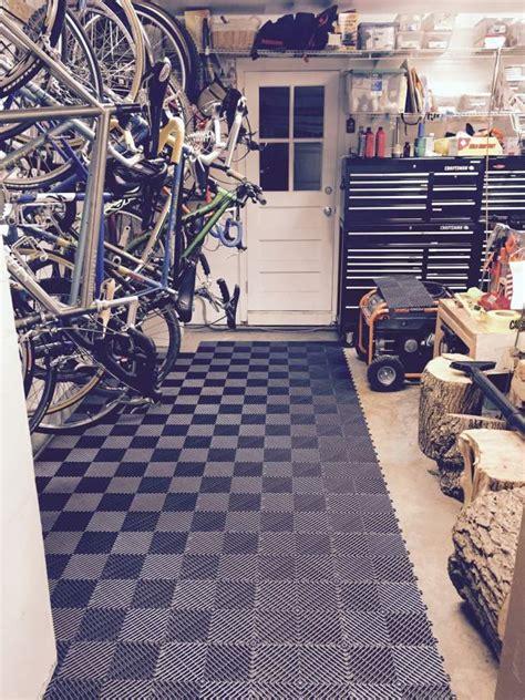 diamond garage floor tile video review