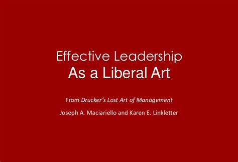 liberal arts of management a toolkit for today s leaders books effective leadership as a liberal