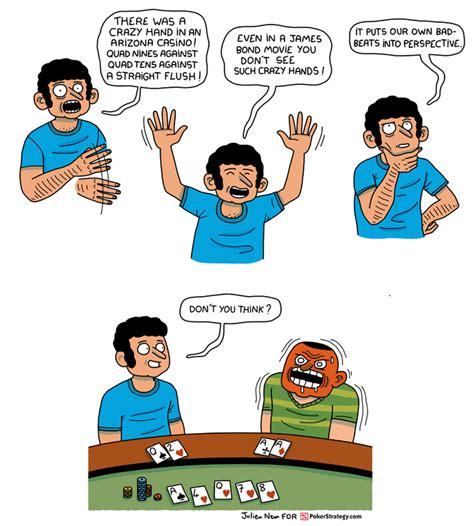 news poker cartoon crazy hand