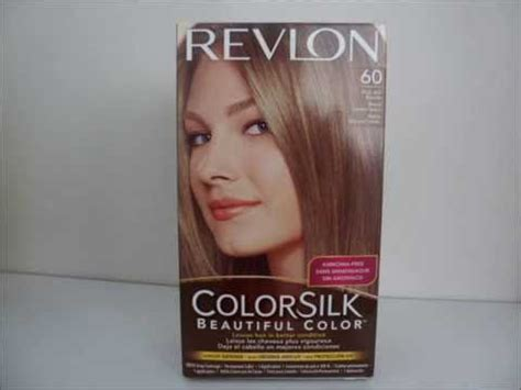 dark ash blonde revlon revlon colorsilk 60 dark ash blonde hair dye youtube