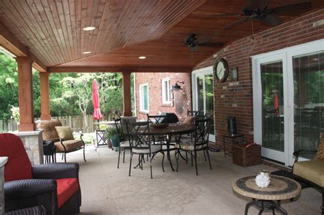 Covered Patio Ideas Cleveland   Rustic   Patio   Cleveland