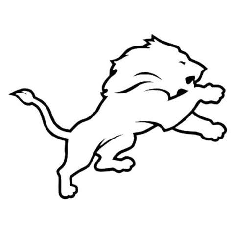 nfl lions coloring pages detroit lions nfl die cut vinyl decal pv614 enjoy