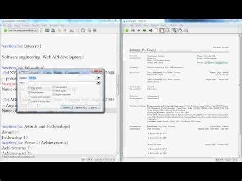 latex tutorial video latex video tutorials latex video tutorial how to create