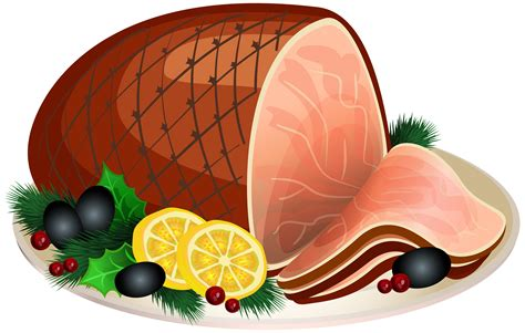 ham clipart the gallery for gt cooked ham clipart