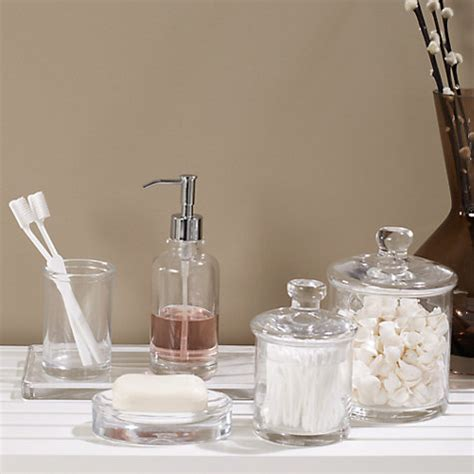 bathroom glass jar buy john lewis croft collection glass containers john lewis