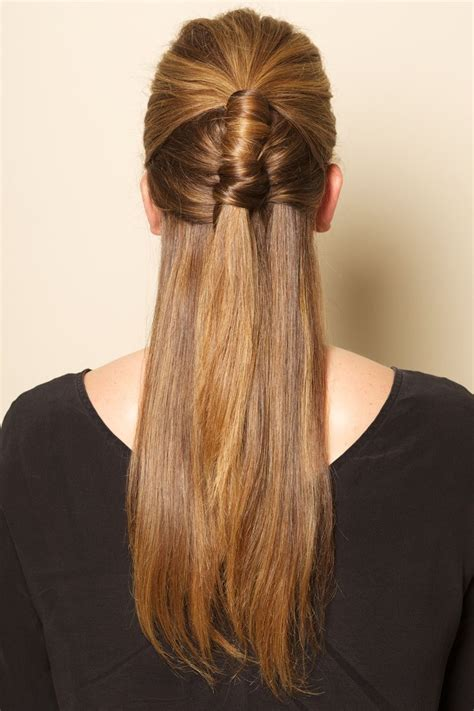 Hairstyles For Hair Only Goes by 25 Best Ideas About Half Ponytail On Braids