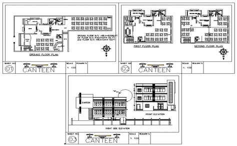 Pool House Plans Canteen Plan