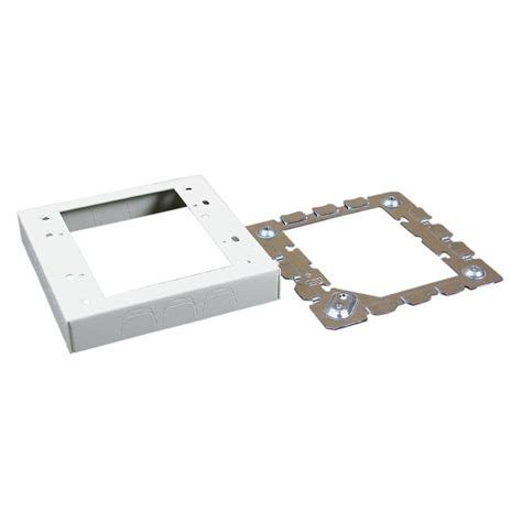 Junction Box Plexo Weatherproof 155x155x74 Legrand legrand wiremold 500 and 700 series met 2 electrical box v5747 2 the home depot