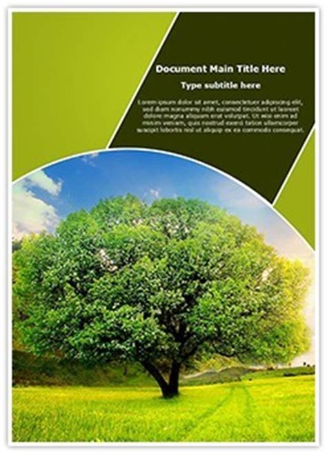 nature templates for word nature word document template subscriptiontemplates com