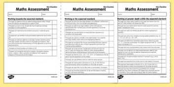 ks1 maths exemplification checklist maths assessment