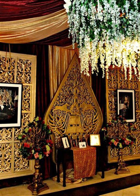 Background Wedding Jawa by Maroon Of The Java Mawarprada Dekorasi Pernikahan