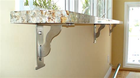bar top support fine modular floating breakfast bar design with stainless