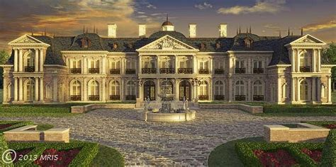 2 000 Square Feet to be built versailles inspired chateau on the market for