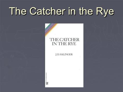 catcher in the rye chapter 17 themes catcher in the rye chapter 8