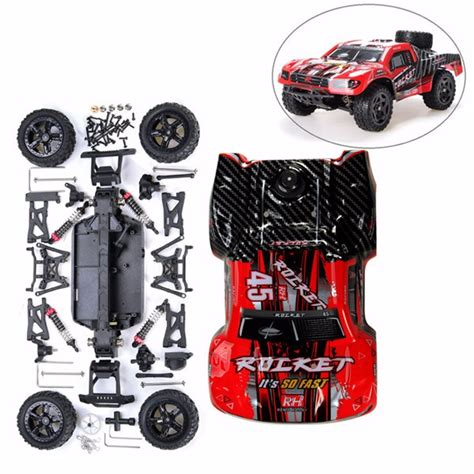 Mini 4wd Tiger Zap Merk Dd remo 1 16 rc course truck car kit with car shell without electronic parts sale banggood