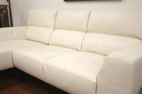 cream leather l shaped sofa cream leather contemporary l shaped sectional sofa w high back