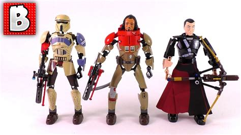 Lego Starwars Buildable Figures 75525 Baze Malbus 3 new lego wars buildable figures 2017 baze malbus