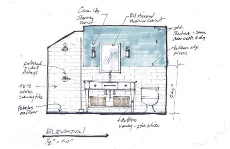 See why this 2nd floor bathroom will be worth taking the stairs for designed w carla aston