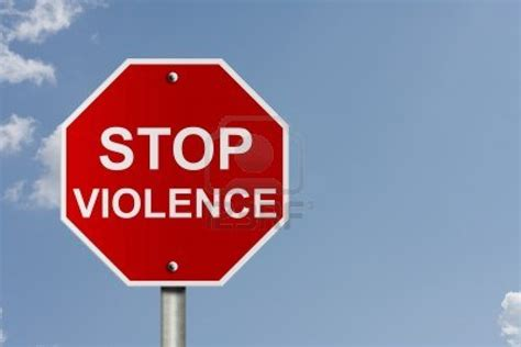 Stop With The by Quotes About Stopping Violence Quotesgram