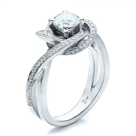 custom engagement ring 1476 bellevue seattle