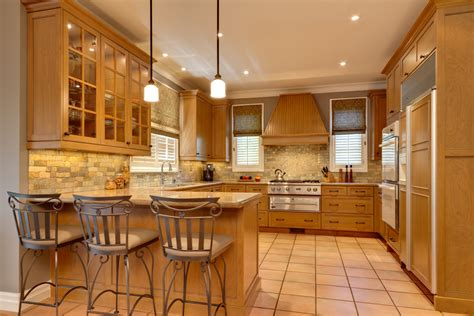 Honey Maple Cabinets by Honey Maple Cabinets Kitchen Traditional With Ceiling